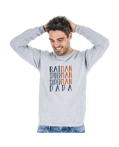 Sweat SUPERMAN BATMAN SPIDERMAN PAPA