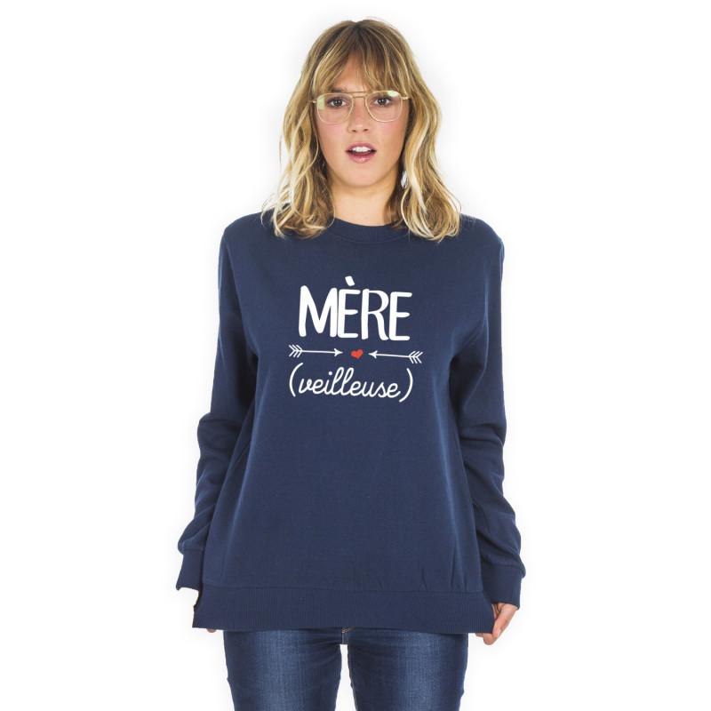 T Sweat Shirt Mère Roi veilleuse Du Le Sxq48SB