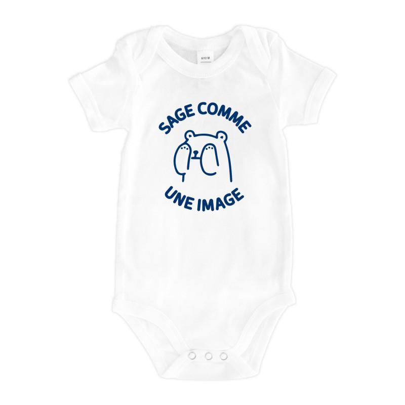 e720fe7a844eb Bodys SAGE COMME UNE IMAGE - Le Roi du T-Shirt